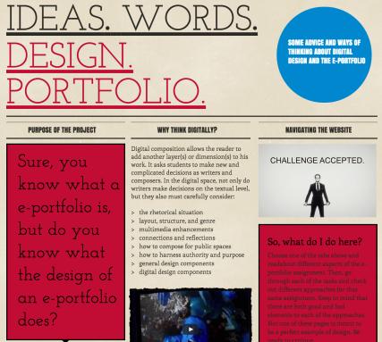 E-Portfolio Design http://kandre17.wixsite.com/eportfoliodesign
