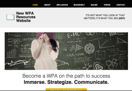 Resources for new WPAs http://kandre17.wixsite.com/new-wpas